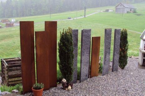 Eisenplatten Rostig Metallteile Verbinden